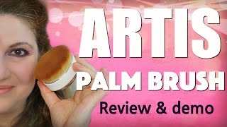 Artis Palm Brush Review and full demo