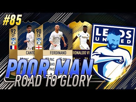 PAST AND PRESENT LEEDS UNITED SQUAD!!! NEW TOTW PACK!!! - Poor Man RTG #85 - FIFA 18 Ultimate Team