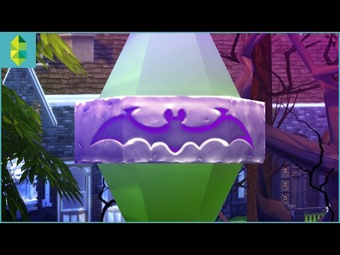 The Sims 4 Vampires - Build & Buy Overview