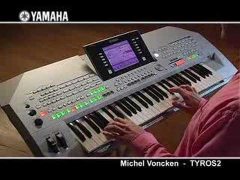 David explains how to use a USB memory stick with a Yamaha Tyros .