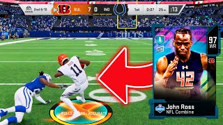 1 Play 1 Touchdown! 100 SPEED JOHN ROSS IS GLITCHY! - Madden 20 Ultimate Team
