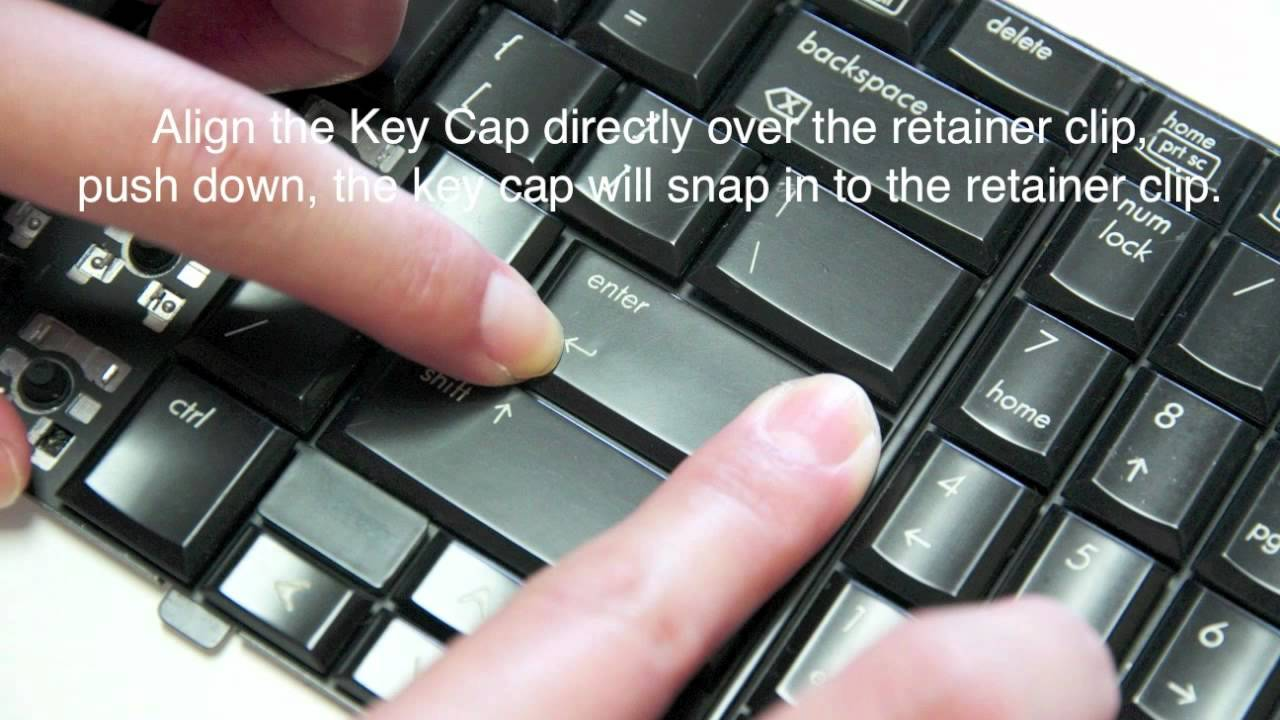 how to clean dell laptop keyboard keys