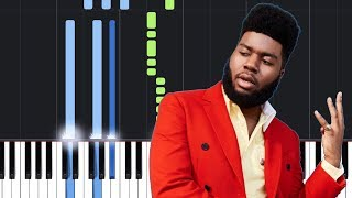Khalid - Suncity ft. Empress Of (Piano Tutorial)
