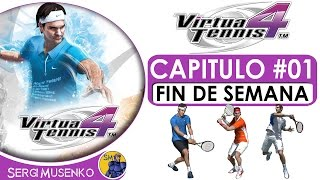 Virtua Tennis 4 Gameplay Español Temporada Capitulo 1