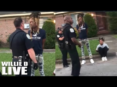 Cop Detains Innocent Black Man, Answers 'Fuck You Is My Name' When Asked to Identify Himse