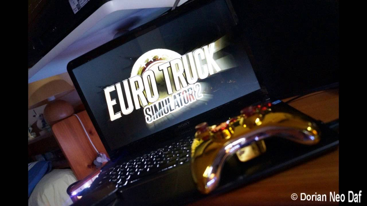 play euro truck simulator 2 with xbox 360 controller youtube. Black Bedroom Furniture Sets. Home Design Ideas
