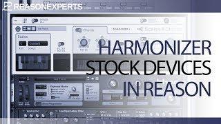 Harmonizer in Reason 9 and Reason 10