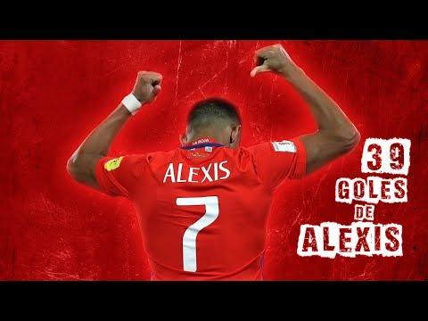 Alexis Sánchez | 39 Goles | Goleador Histórico | Selección Chilena