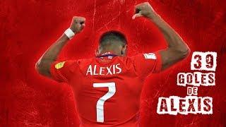 Alexis Sanchez 39 Goles Goleador Historico Seleccion Chilena