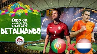 Video 2014 Fifa World Cup Brazil - Estadios, Modos e Seleções! - Portugal x Holanda no Mineirão! [PS3] download MP3, 3GP, MP4, WEBM, AVI, FLV November 2017