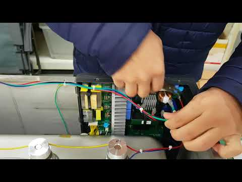 How to disassemble the power supply PCB from the main body of the POWERSONIC 620
