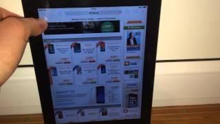 iPad 2 : Porno bug iOS 7.1 after rotation.