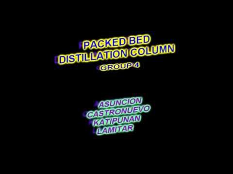 HAM LT3 (Group 4) - Packed Bed Distillation Column