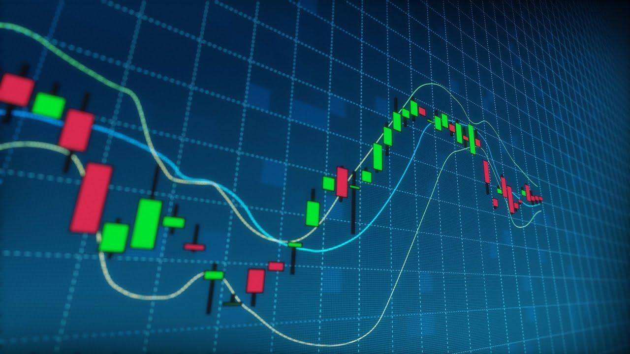 stock market candlestick data