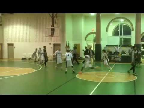 The Woods Academy vs Montrose Christian School 12-15-14 (Game Winning Shot)