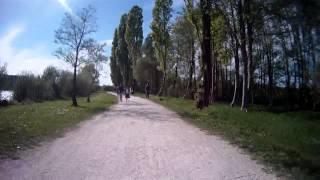 Tour du lac (en VTT) de Vesoul Vaivre le 20 avril 2014 vers 16h