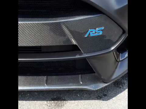 Focus RS mk3 KURO CARBON exterior prepreg carbon composites