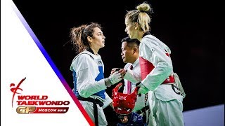 Moscow 2018 World Taekwondo GP-Final [female -57Kg] YAMAN, IREM(TUR) vs VULETIC, BRUNA(CRO)