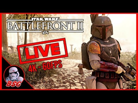 7 Hour Stream PC and PS4, Star Wars Battlefront 2 | 4K Live Stream (4K 60FPS) thumbnail
