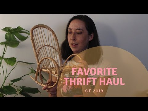 My Final (and Favorite!) Thrift Haul of 2018