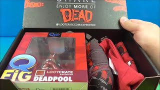 LOOTCRATE FEBRUARY 2016 SUBSCRIPTION BOX OPENING UNBOXING