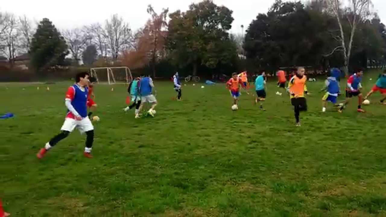 7473920093695 Entrenamiento Futbol Juvenil - Posesión De Balón - YouTube