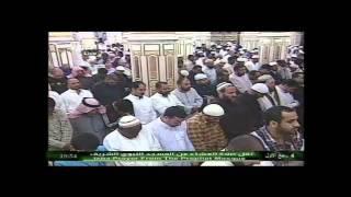 صلاة العشاء من المسجد النبوي - عبد المحسن القاسم