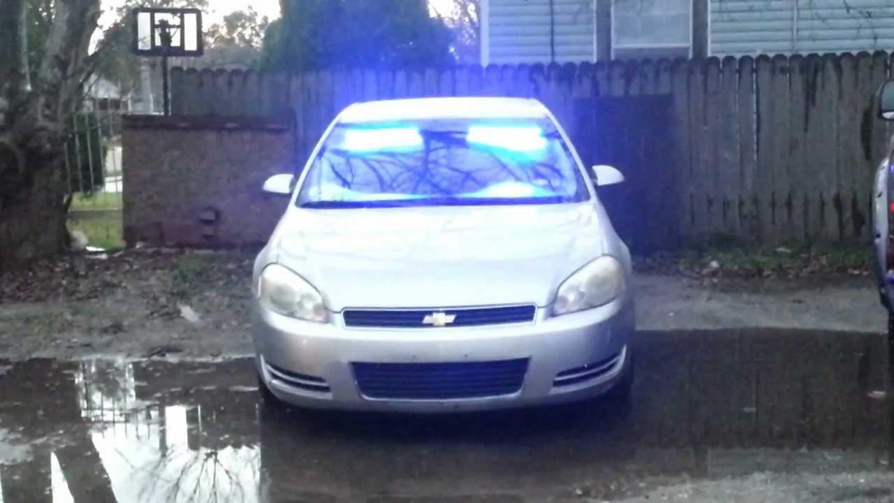 CPS AUTHORITY UVT INTERIOR LED POLICE LIGHTS VISOR