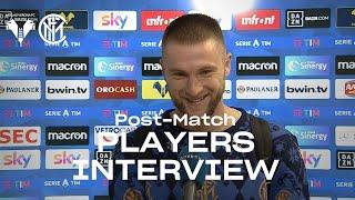 HELLAS VERONA 1-2 INTER | SKRINIAR + LAUTARO EXCLUSIVE INTERVIEWS [SUB ENG]