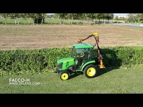 DELEKS FALCO-H braccio decespugliatore - Prova in campo