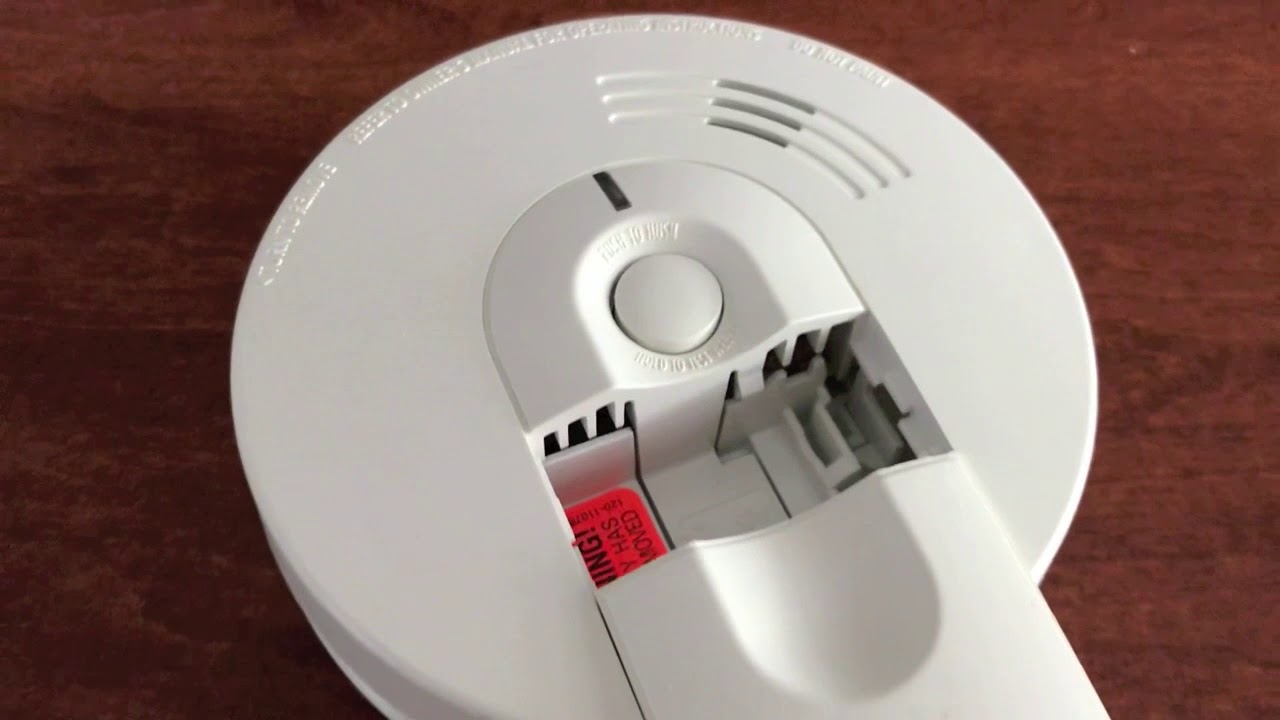 Replaced Battery Cleaned Smoke Detector Still Beeping Must Reset Detector Youtube