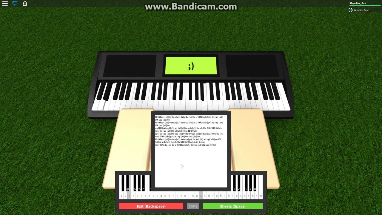 Fur Elise Roblox Piano D Notes In Desc Youtube