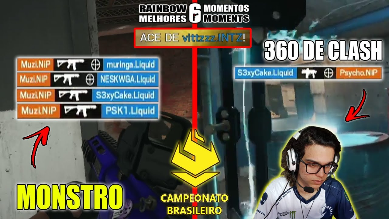 4K INSANO DO MUZI, S3XYCAKE FAZENDO O 360 DE CLASH, 5K DO VITTZ E MAIS - HIGHLIGHTS 1ª RODADA BR6