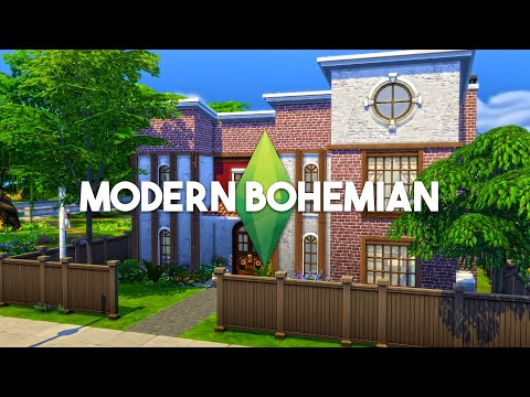 Best House Build - Modern Bohemian - Speed Build