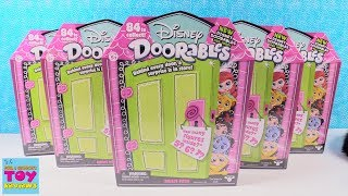 Disney Doorables Series 2 5 6 7 Pack Multi Figure Unboxing Toy Review | PSToyReviews