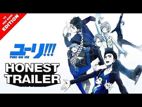 「AMV」Yuri on Ice!!! - Honest Trailer Anime v2 RED BAND ed - AAC Best in Show - AMV Parody