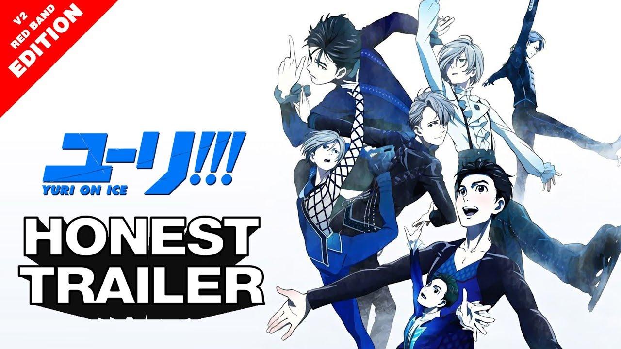 「AMV」Yuri on Ice!!! - Honest Anime Trailer v2 RED BAND ed - Tsukino Con  Best in Show - AMV Parody