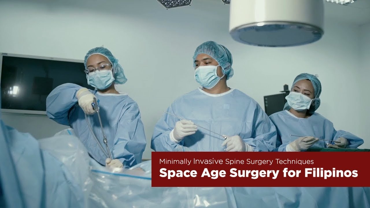 Space age spine surgery for Filipinos – University of the