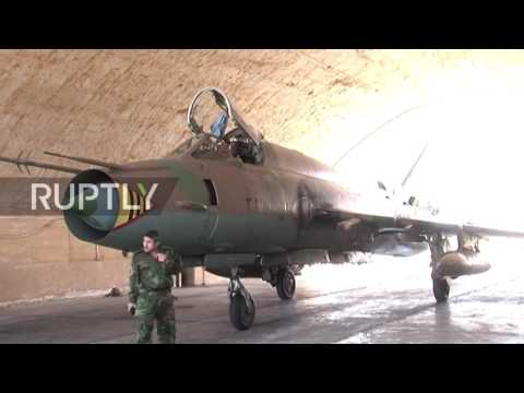Syria: Archive of Shayrat airbase hit by US tomahawks strikes