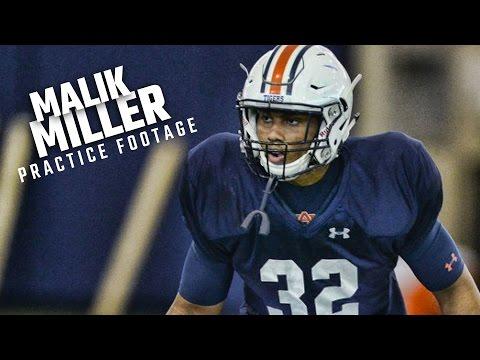 True freshman Malik Miller could provide much-needed depth in Auburn's backfield