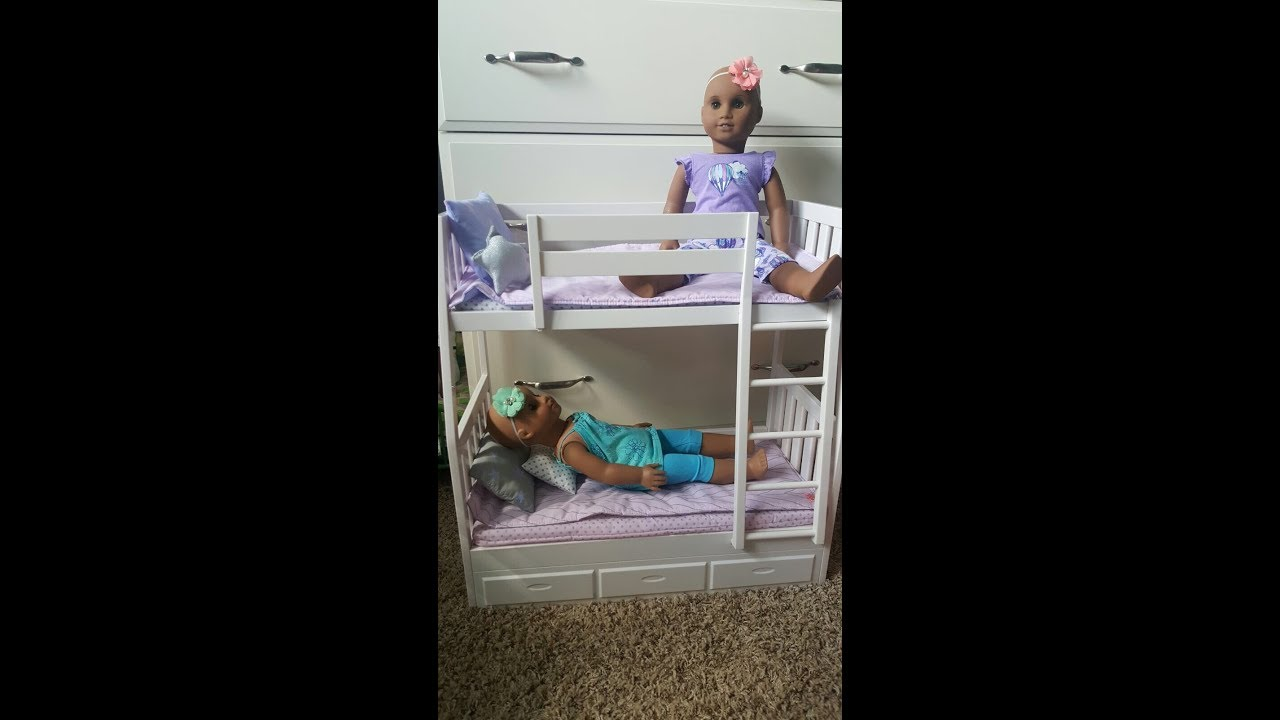 New Our Generation Bunk Bed Youtube