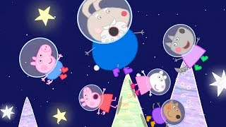 Peppa Pig Official Channel | Peppa Pig's Space Holiday with Grampy Rabbit