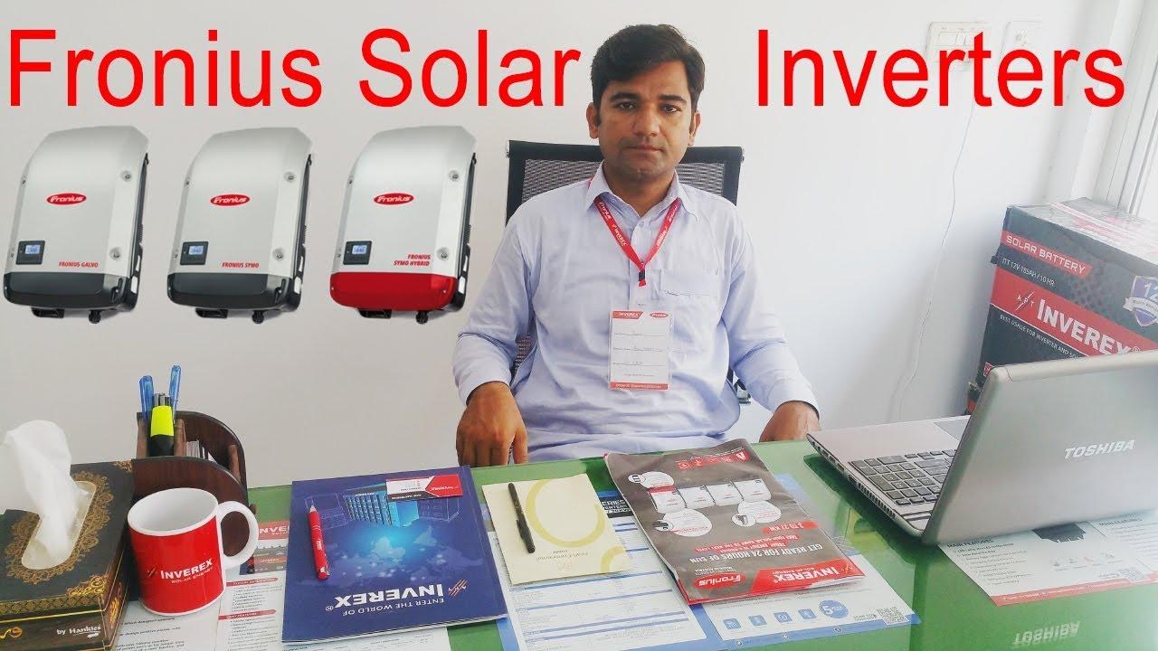 Fronius Solar Inverter Series Fronius Hybrid Inverter Single Phase And Three Phase Youtube