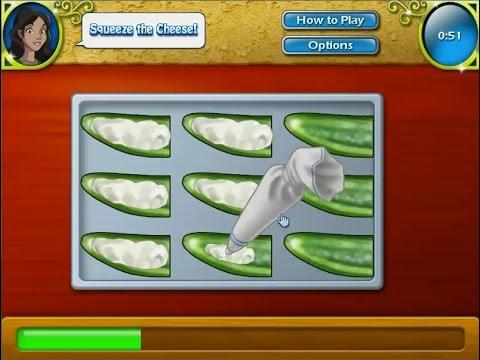 เกมส์ทำอาหาร พริกยัดไส้ชุบไข่ทอด - Jalapeno poppers  Mexican food Cooking Game ハラペーニョポッパー