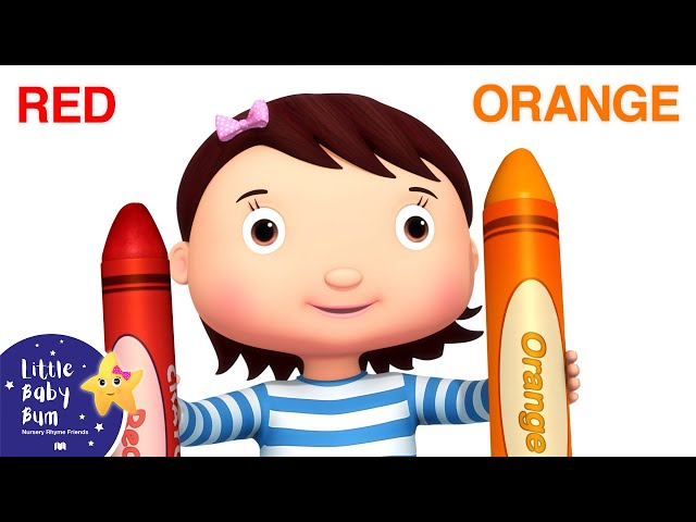 Color Song | BRAND NEW! | Little Baby Bum Nursery Rhymes & Kids Songs | Songs for Children