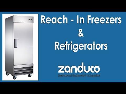 Reach - In Freezers & Refrigerators