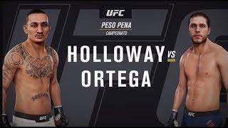 GAME UFC: Holloway x Ortega | Shevchenko x Jedrzejczyk