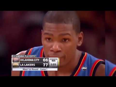 kobe-bryant-vs-kevin-durant-first-ever-playoff-duel,-game-1-highlights-2010-nba-playoffs-epic!