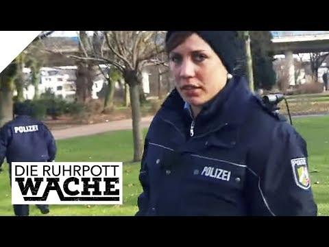 Der unglaubliche Fall im Park: Katja Wolf und Bora Aksu im Einsatz | Die Ruhrpottwache | SAT.1 TV