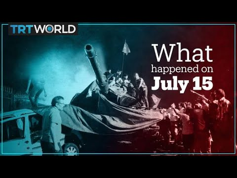 How Turkey's coup attempt unfolded